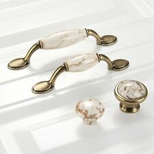 Classical Kitchen Cabinet Cupboard Drawer Knobs Closet Door Pull Handles Ceramic