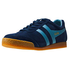Gola Harrier Mens Trainers Navy Blue New Shoes