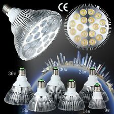 E27 9W 14W 18W 24W 30W 36W Dimmable PAR20 PAR30 PAR38 LED Light Bulb Lamp NEW