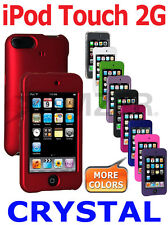 AMZER Snap On Crystal Hard Shell Case Protective Cover For iPod Touch 2G
