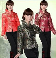 Charming Chinese Women's silk embroidery jacket /coat Cheongsam Sz 8 10 12 14 16