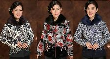 Charming Chinese Women's winte cotton jacket /coat Sz: 8 10 12 14 16 18