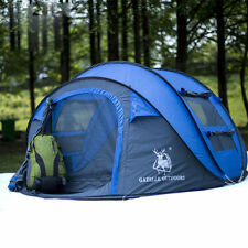 Outdoor Camping Pop Up Tent Waterproof Hydraulic Automatic Hiking Tent 4 Person
