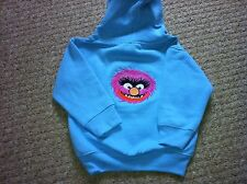 Personalised Embroidered Muppets Animal Childrens/Kids Hoody Sizes 2yrs 11-13yrs