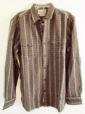Lucky Brand Indian Pattern L/S Button Down Striped Shirt M L XL NWT 7M40764