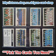 ☆ Daily Mirror - Star Soccer Sides 1971-72 (G) *Please Select Card*