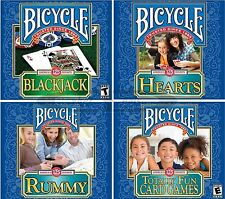 Bicycle Brand Card Games Selections PC Windows XP Vista 7 8 10 Sealed New
