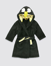 M&S KIDS/BOYS/GIRLS PENGUIN DRESSING GOWN ROBE AGE 4-5 or 5-6 years BNWT