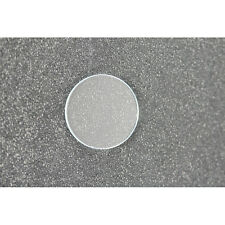 Round Flat Mineral Watch Replacement Crystal Clear Size 20.8mm