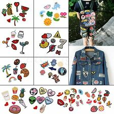 1 Set Applique Craft Patches Sewing Iron On Bags Hats DIY Use Badge Cloth Fabric