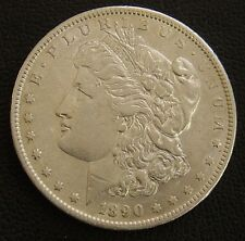1890 S Silver morgan Dollar Very Nice - Coin is in AU condition - Nice Coin!