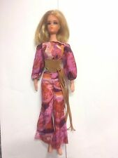 1971 Vintage LIVE ACTION BARBIE DOLL~ORIGINAL MOD OUTFIT~FULLY POSEABLE~#1155