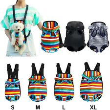 Pet Dog Cat Backpack Carrier Legs Out Front Tote Bag Pouch Mesh Puppy Travel Bag