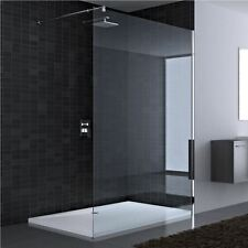 Durovin Ultra Modern Wetroom Walk In Shower Enclosure Glass Screen & Trays