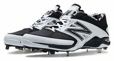 New Balance Low-Cut 4040v2 Metal Cleat Mens Shoes White