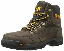 Caterpillar Men's OUTLINE ST Brown P90803 STEEL TOE Slip Resistant Work Boots