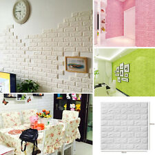 DIY 3D Tile Wall Bedroom Mural Removable Sticker Art Decal Room Home Decor 2017