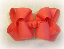 Girls hairbows Big hair bows double layer boutique bow Watermelon Headband Clip