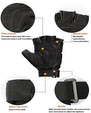 Airsoft Paintball Tactical Gloves Gear Half Finger Armed Protect SWAT Military