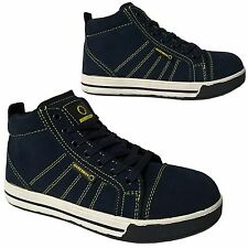 MENS LIGHTWEIGHT STEEL TOE CAP SAFETY WORK TRAINERS SHOES BOOTS SIZE 6 - 13UK