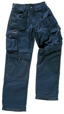 TUFF STUFF NAVY 700 EXTREME TRADESMAN WORK TROUSER CLEARANCE HOLSTER POCKETS