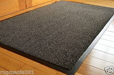 NON SLIP RIBBED BARRIER RUNNER MAT HALL DOOR MACHINE WASHABLE LARGE NEW QUALITY