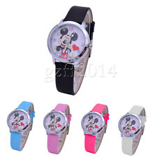 Hot sale Mickey Mouse Quartz Fashion  Wrist Watch Wristwatch Child Boy Girl