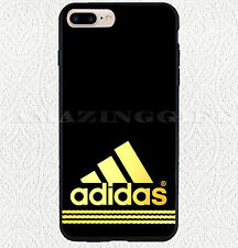 Best Adidas Logo Gold Strippes Cool Print On Hard Plastic Case iPhone 7 7 plus