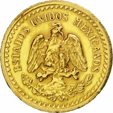 [#470521] Mexico, 2-1/2 Pesos, 1945, Mexico City, Gold, KM:463