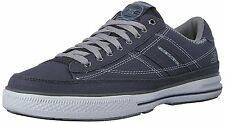 Skechers ARCADE CHAT MF Mens Charcoal 51014/CHAR Casual Lace Up Shoes