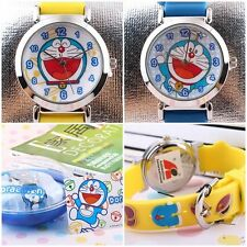 JAPAN DORAEMON 3D GRAPH SOFT SILICONE BAND CHILD WATCH W/ GIFT BOX  DM-3K1119P