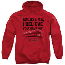 Office Space Movie Quote Excuse Me You Have My STAPLER Sweatshirt Hoodie