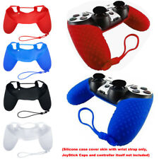 Soft Silicone Case Gel Rubber Skin Grip Cover For Playstation 4 PS4 Controller