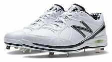 New Balance Mens Baseball Low-Cut 3000 Cleat Shoes White