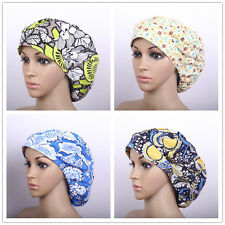 Flowers Printing Nurses/DoctorMedical Surgical Cap Surgery Scrub Cap/Hat