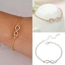 Simple Love Infinity Anklet Foot Chain Ankle Bracelet Infinity Charm Hot Sale