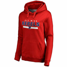 Ole Miss Rebels Women's Scarlet Team Strong Pullover Hoodie - College