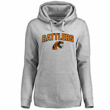 Florida A&M Rattlers Women's Ash Proud Mascot Pullover Hoodie - - College