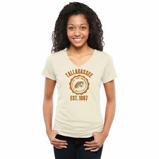 Florida A&M Rattlers Women's Old-School Seal Tri-Blend V-Neck T-Shirt - College
