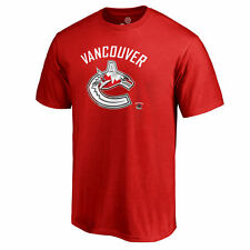 Fanatics Branded Vancouver Canucks Red Big & Tall Canada Wave T-Shirt