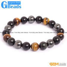 "Handmade Stone Energy Beaded Stretchy Bracelet 7"" Fashion Jewelry Free Shipping"