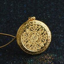 Gold Plated  Charms Photo Frame Memory Necklace & Pendant