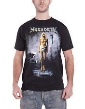 Megadeth T Shirt Countdown To Extinction band logo new Official Mens Black