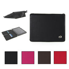 KroO Textured PU Leather Folio Case with kickstand for Apple iPad (1st Generatio