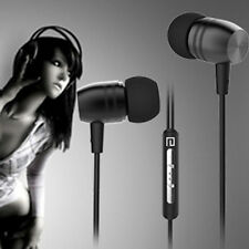Metal Earphone Stereo Headset with Mic Heavy Bass Earbud For MP3 Microphone GN