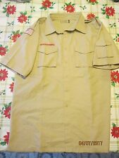 BSA/Cub,Boy Scout Tan Centennial Sht.Slv. Mens/Boys Shirt with left Slv. Pkt.-8