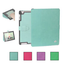 KroO Slim Portfolio Cover Case with Hard Shell for Apple iPad (2, 3, 4)