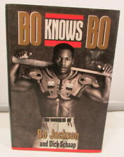 First Edition – Bo Knows Bo By Bo Jackson – Hard Cover Book