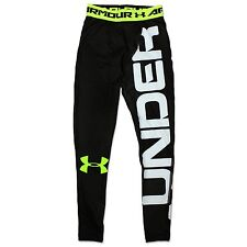 UNDER ARMOUR HEATGEAR BRANDED LEGGINGS COMPRESSION TROUSERS RUNNING TIGHT