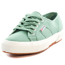Superga 2750 Classic Womens Trainers Light Green New Shoes